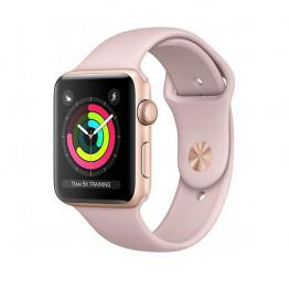 ساعت هوشمند سری 3 سایز 42 میلیمتر رنگ طوسی اپل با بند مشکی