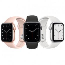 ساعت هوشمند سری SE سایز 44 میلیمتر اپل با بند سیلیکونی