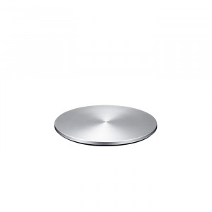 Just Mobile AluDisc™ 360-degree pedestal for iMac and Apple Display