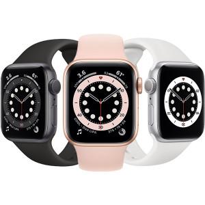 ساعت هوشمند اپل واچ سری 6 سایز 44 با بند سیلیکونی