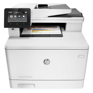 HP M477fdn Color LaserJet Multifunction Printer White