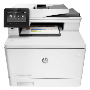 printer HP MFP M477fdw Color LaserJet