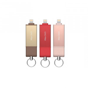 Adam Elements iKlips Duo - Apple Lightning Flash Drive  128GB