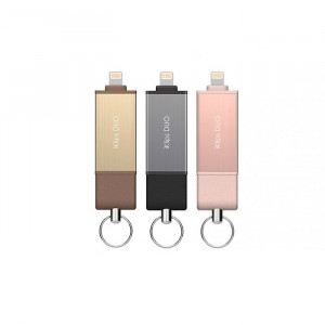 Adam Elements iKlips Duo - Apple Lightning Flash Drive - 64GB