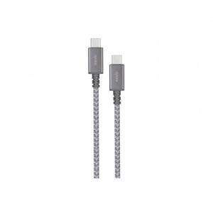 Moshi Integra USB-C to USB-C Charge/Sync Cable Titanium Gray