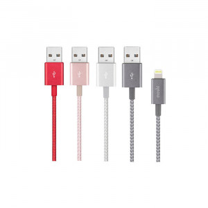 Integra™ USB-A Charge Sync Cable with Lightning connector Crimson Red_3_