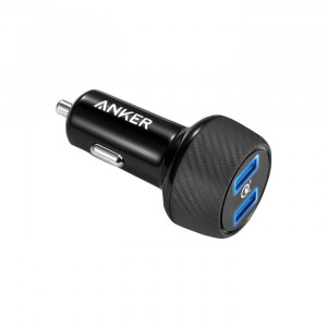 Anker PowerDrive Speed 2 Ports Black
