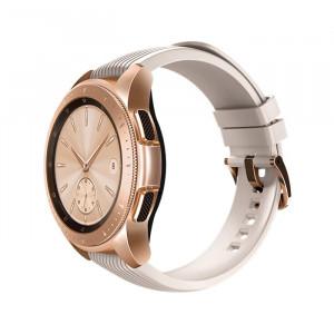 ساعت هوشمند گلکسی سامسونگ سایز 42 میلیمتر رزگلد