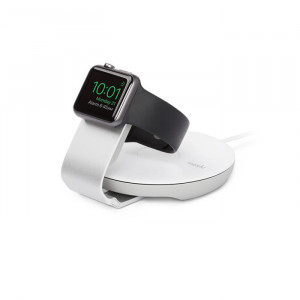 Moshi Travel Stand for Apple Watch   White