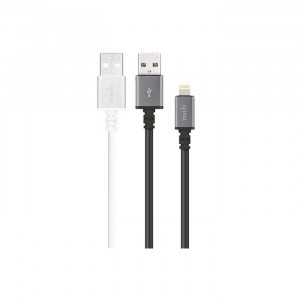 Moshi USB Cable With Lightning Black & White