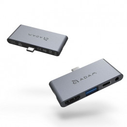 هاب 4 پورت USB-C مدل i4 آدام المنتس