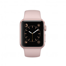 ساعت هوشمند سری 1 سایز 42 میلیمتر رنگ رزگلد اپل با بند صورتی
