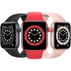 ساعت هوشمند اپل واچ سری 6 سایز 40 با بند سیلیکونی