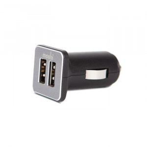 Moshi Car Charger Duo – Black