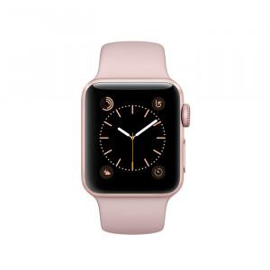 ساعت هوشمند اپل واچ سایز 42 میلیمتر رنگ رزگلد با بند صورتی