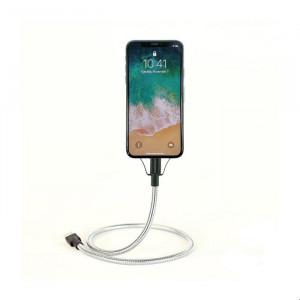 کابل تبدیل USB به لایتنینگ مدل Bobine Flex C آلومینیومی فیوز چیکن