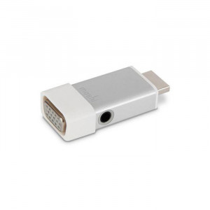 Moshi HDMI to VGA with Audio support Silver