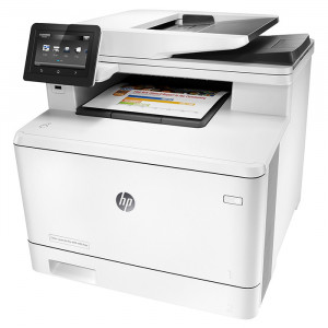 HP MFP M477fdw Color LaserJet Pro Multifunction Printer