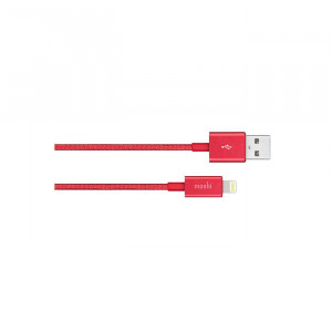 کابل موشی Integra USB-A Charge with Lightning connector قرمز