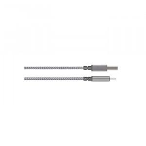 کابل موشی Integra USB-C to USB-A خاکستری