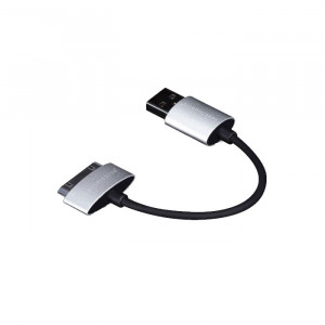 Just Mobile Alu Cable USB to 30 pin Cable 10CM