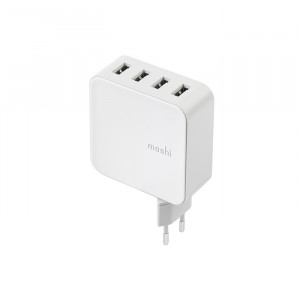 شارژر دیواری Moshi ProGeo 4-Port USB Wall Charger 35 W