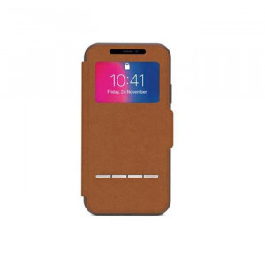Smart case SenseCover Moshi iPhone X brown