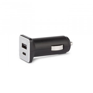 Moshi USB-C Car Charger - Black