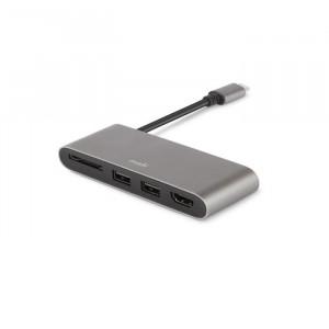Moshi USB-C Multimedia Adapter Titanium Gray
