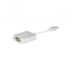 Moshi USB-C to VGA Adapter  Silver