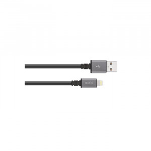 USB Cable Moshi With Lightning Black