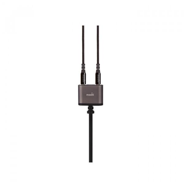 Moshi 3.5 mm Audio Jack Splitter Black