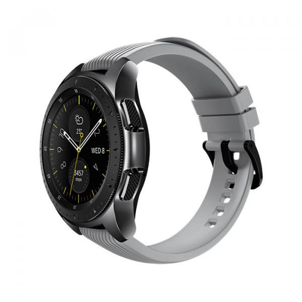 ساعت هوشمند گلکسی سامسونگ سایز 40 میلیمتر مدل SM-R830 رنگ نقرهای