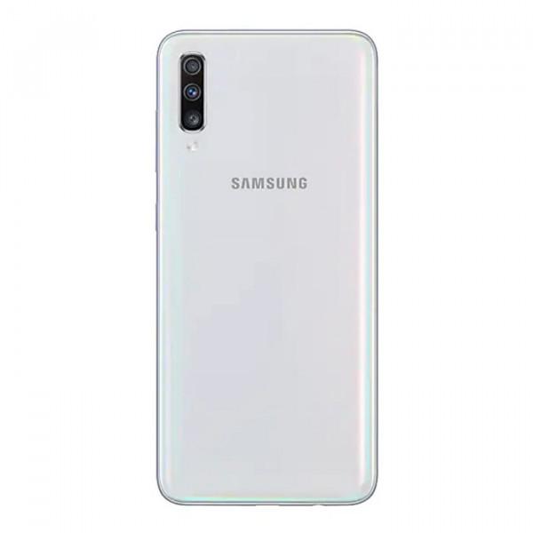 گوشی گلکسی A70 سفید سامسونگ با ظرفیت 128 گیگابایت