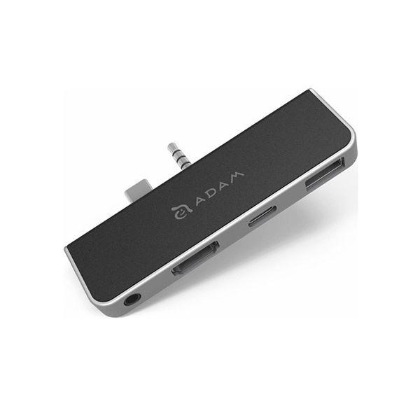 هاب 4 پورت USB-C مدل CASA HUB S4 آدام المنتس