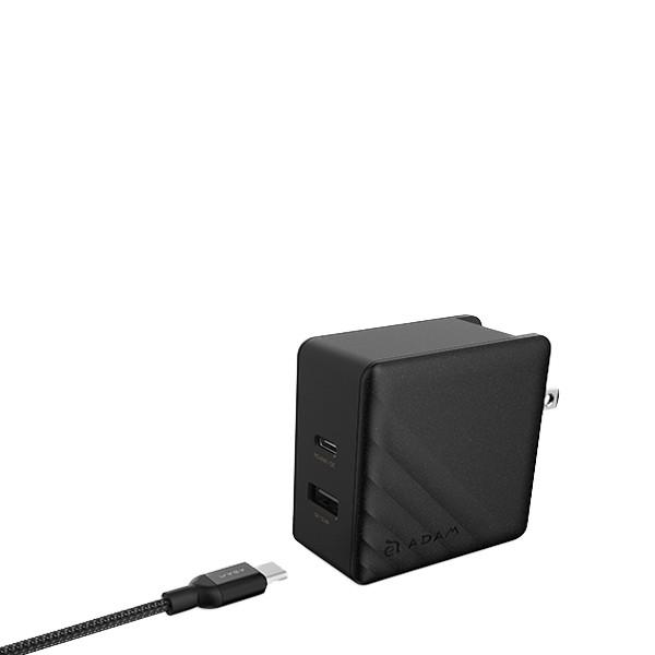 کابل لایتنینگ به USB-C مدل PeAK II 120B مشکی آدام المنتس