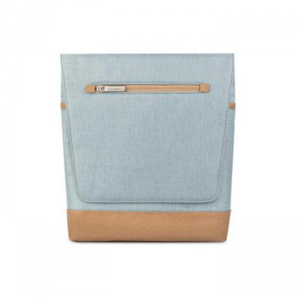 Vertical Messenger Bag Moshi Blue