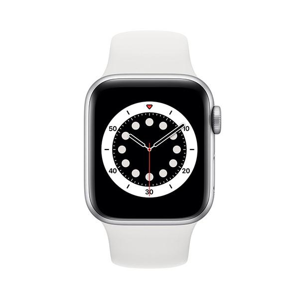 ساعت هوشمند سری 6 سایز 44 میلیمتر اپل با بند سیلیکونی