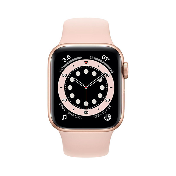 ساعت هوشمند سری 6 سایز 40 میلیمتر اپل با بند سیلیکونی