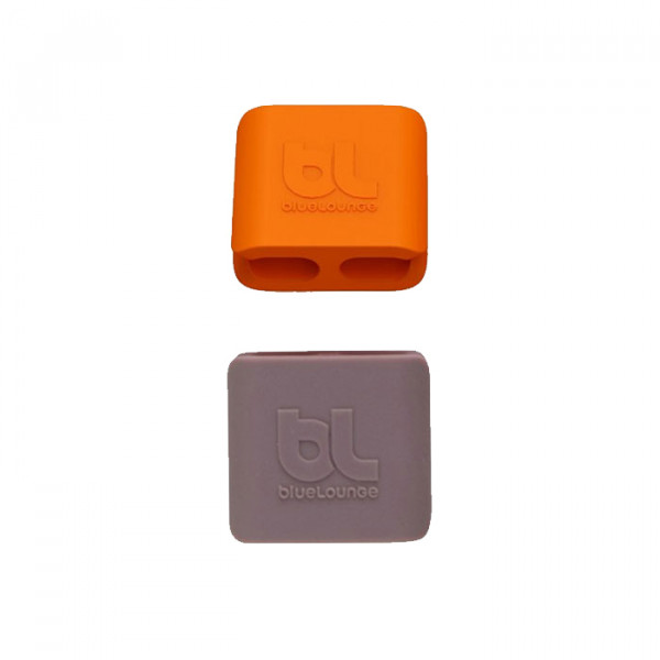 Cableclip Medium Blue Lounge Orange