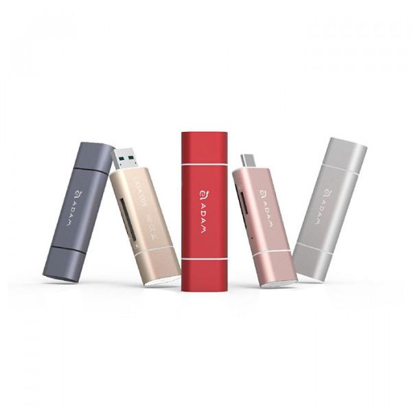 CASA C05 - USB 3.1 to USB Type C 5-in-1 OTG