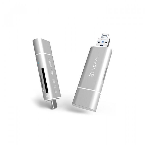 کارت خوان آدام المنتس USB 3.1 to USB Type C 5-in-1 OTG