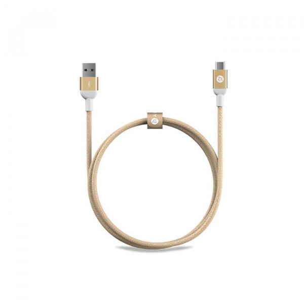 کابل adam elements USB-C to USB 3.0 gold