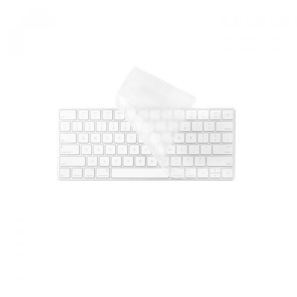 محافظ ژله ای شفاف کیبورد اپل موشی