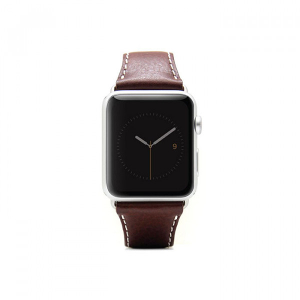 Apple watch 38mm Leather strap SLG D6 brown