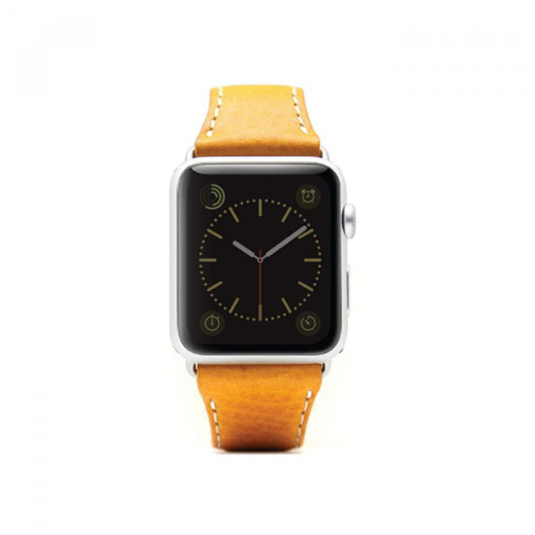 Apple watch 38mm Leather strap SLG D6 yellow