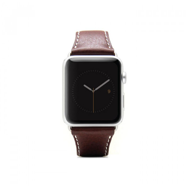 Apple watch 42mm leather strap SLG D6 Brown