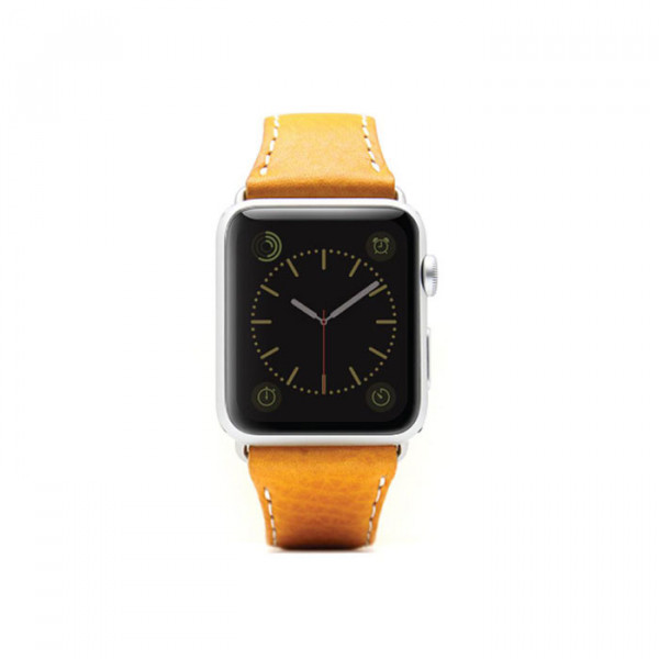 Apple watch 42mm leather strap SLG D6 Yellow