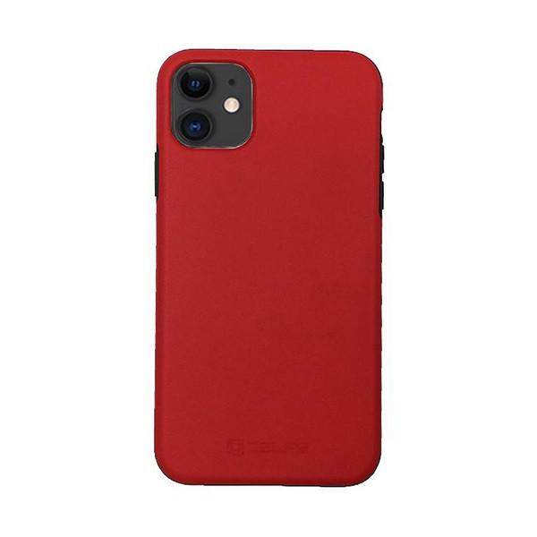 قاب موبایل مدل DermaCase قرمز مناسب برای آیفون 11 دلفی