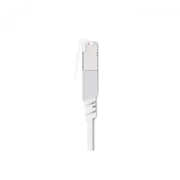 کابل شبکه موشی cat 6 سفید 3.6 متری